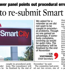 Counsultancies to Re-Submit Smart City Proposals