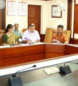 1st Board Meeting held on 31st August at Chief Secretary's Conference hall Secretariat